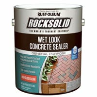 RockSolid Wet Look Concrete Sealer, High Gloss, Gallon