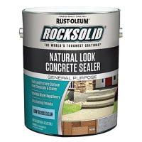 RockSolid Wet Look Concrete Sealer, Natural Matte, Gallon