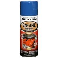 Engine Spray Enamel, Ford Blue Gloss, 12-oz.