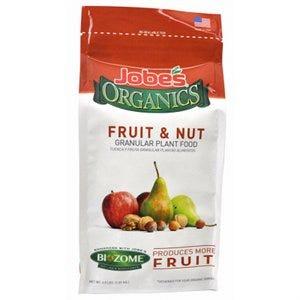 Organics Fruit & Nut Granular Fertilizer With Biozome, 4-6-6, 4-Lbs.