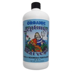 Organic Fish & Seaweed Fertilizer, 2-3-1, 1-Qt.