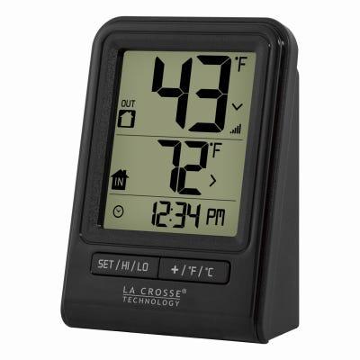 Wireless Thermometer, Black