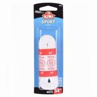 Shoe Laces, White Sport, 54-In., Pr.