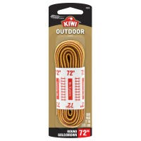 Outdoor Round Laces, Gold/Brown, 72-In.