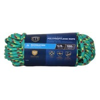 Polypropylene Rope, Assorted Colors, 5/8-In. x 100-Ft.