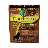 Earthbites Dog Treats, Peanut Flavor, 7.2-oz.