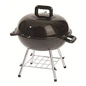 Charcoal Kettle Grill, 151-Sq. In., Black, 14-In.