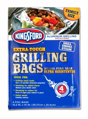 Image of Grilling Bags, 15.5 x 10-In., 4-Pk.