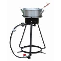 Aluminum Fish Fryer with 24-In. Outdoor Cooker, 10-Qt.