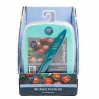 Bar Cutting Board & Knife Set