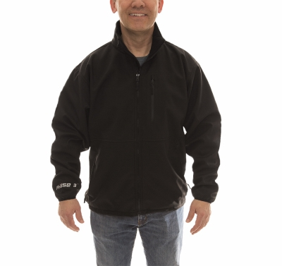 Image of Soft Shell Jacket, Black, Medium
