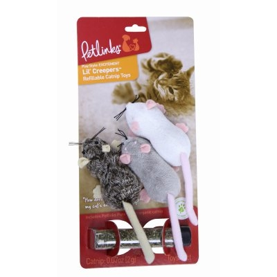 Image of Lil' Creepers Mice Cat Toy, 3-Pk.