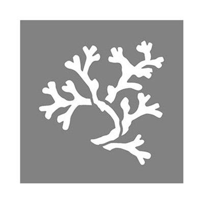 Image of Americana Decor Coral Stencil, 6 x 6-In.