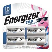 123 Lithium Batteries, 4-Pk.