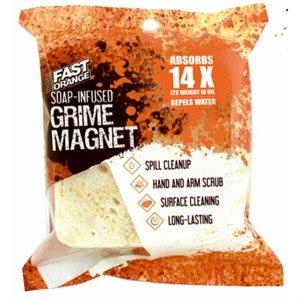 Grime Magnet Sponge, Orange Soap Infused