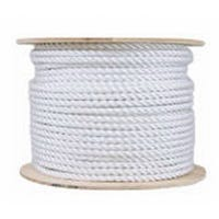 Rope, Twisted Cotton, Natural, 3/8-In. x 300-Ft.