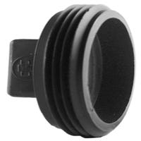 Pipe Plug, ABS/DWV, Male, 4-In.