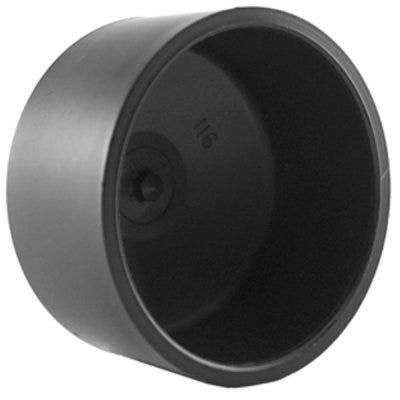 Pipe Cap, ABS/DWV, 4-In.