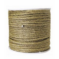 Sisal Rope, Natural, 1-In. x 65-Ft.