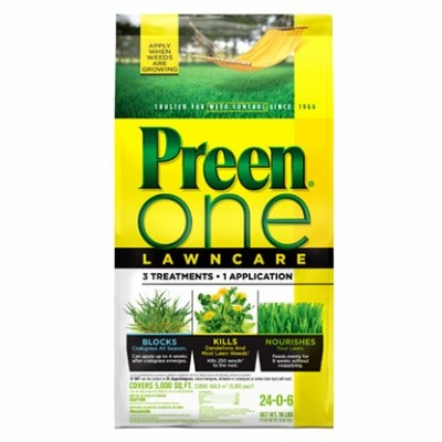 Image of One Lawn Care Weed & Feed, 18-Lbs.
