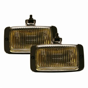 Image of Fog/Driving Lights, Amber With Black Housing, 3 x 5-In., 2-Pk.
