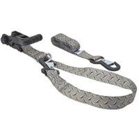 8-Ft. x 1-1/4-In. Ratchet Tie-Down, Ergo Grip, Diamond Plate