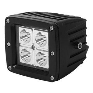 LED Light, Spot Beam, Square, 3-In., 16-Watt