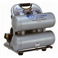 California Air Tools Air Compressor, Ultra-Quiet, Oil-Free, 70dB, 4.6-Gallons