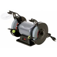 Bench Grinder, 1/3-HP Motor, 6-In.
