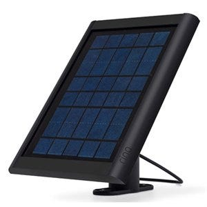Solar Panel for Wi-Fi Spotlight Cam, Black