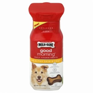 Image of Dog Treats, Good Morning Healthy Skin & Coat, 6-oz.