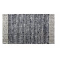 Jute Ivory & Anthracite Rug, 24 x 36-In.