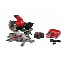 M18 Fuel Sliding Compound Miter Saw Kit With Battery & Charger, 7-1/4-In.