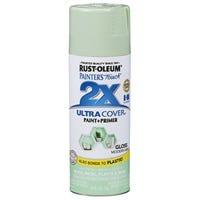 Painter's Touch 2X Spray Paint, Modern Mint Gloss, 12-oz.
