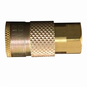 Compression Coupler, T-Style, Female, 1/4-In. NPT