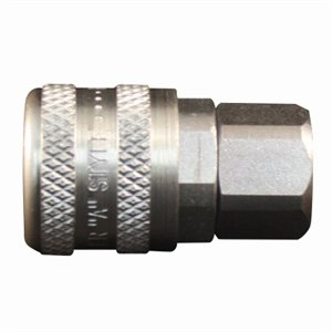 Image of Compression Coupler, A-Style, Female, 1/4-In. NPT