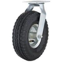 Swivel Caster, Pneumatic Wheel, 12-In.