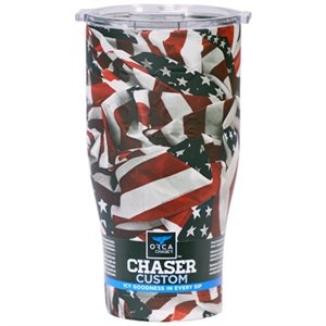 Image of Chaser Tumbler, American Flag, 27-oz.