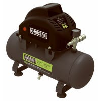 Portable Air Compressor, Hot-Dog Style, 100 Max PSI, 2-Gallons
