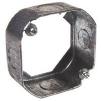Octagon Extension Ring, Steel, 4 x 1.5-In.
