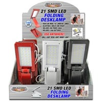 LED Folding Desk Lamp with USB Cable