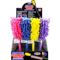 Extendable Flex Head Duster, Assorted Colors, 30-In.