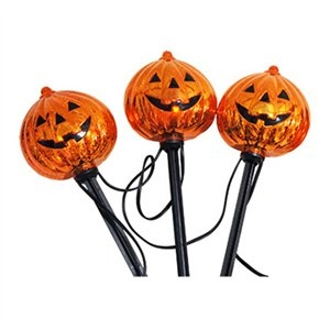 Image of Halloween Flicker Flame Driveway Markers, 5-Ct.