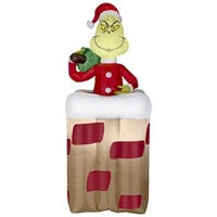 Christmas Inflatable Grinch, 6-Ft.