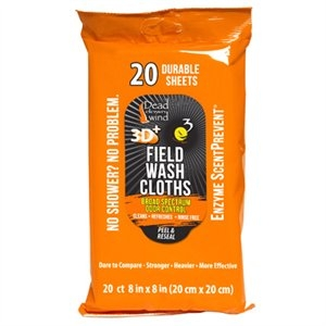 Image of Scent Elimination Field Wash Cloths, 20-Ct.