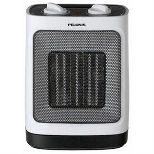 Image of Ceramic Heater, Oscillating, Adjustable Thermostat, 900/1500-Watt