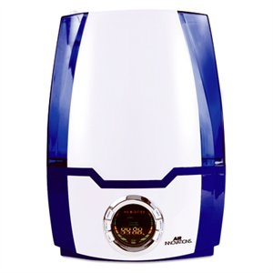Image of Clean Mist Smart Humidifier With Aroma Tray, Blue/White, 1.37-Gal.
