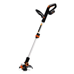 Image of Cordless Grass Trimmer, 12-In., Two 20V Lithium-Ion Batteries