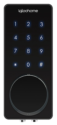 Image of Smart Deadbolt 02, Works With Alexa & Google Home, Black