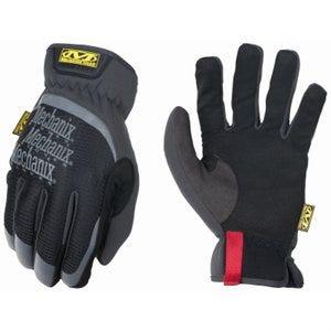 High-Dexterity Work Gloves, FastFit, Black & Gray, Men's XL
